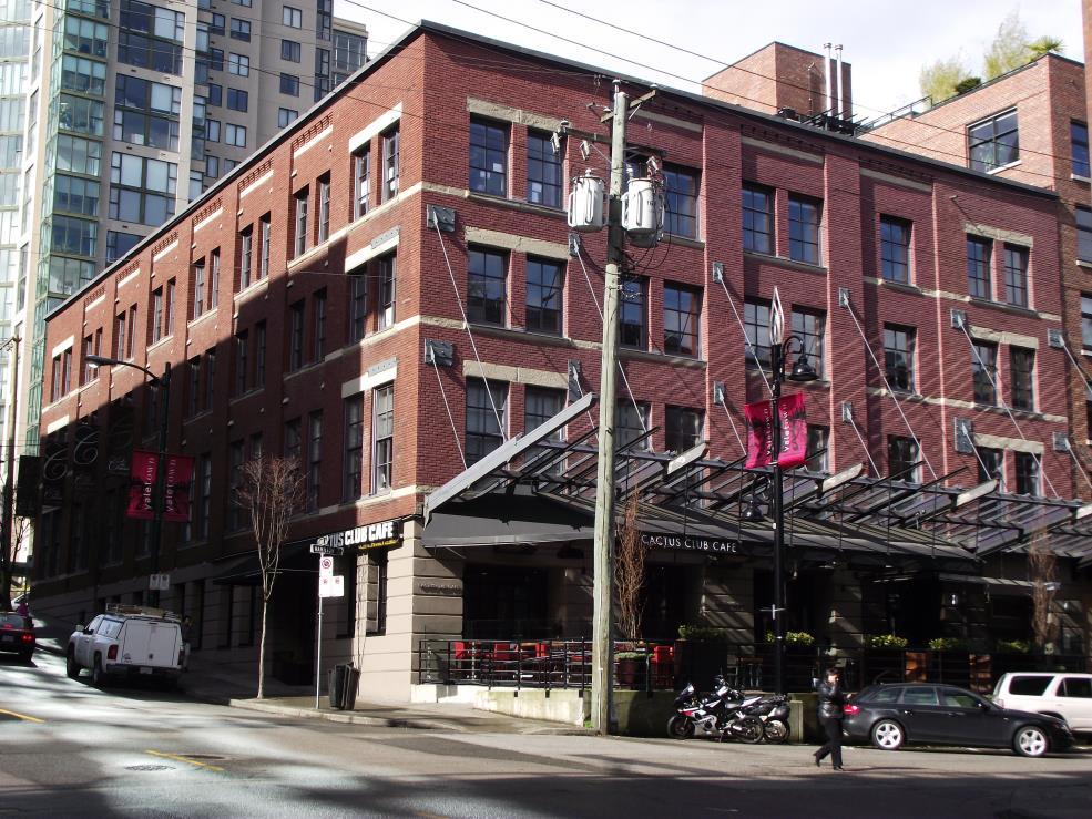 Leckie Building Vancouver | Gastown | JIAA Ltd | Duncan | BC